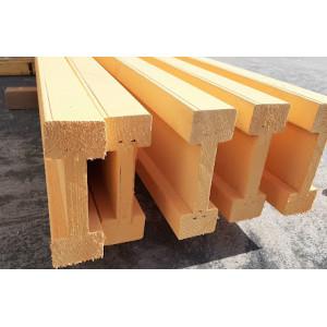 Деревянная балка – преимущества и область применения