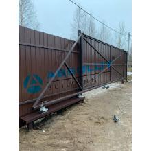 Откатные ворота Absolut 4200х2000
